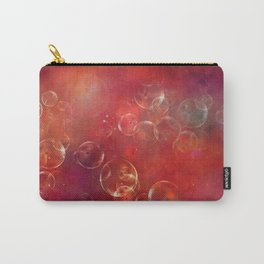 Into the red space surreal bubbles Carry-All Pouch