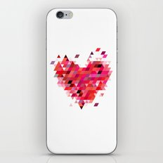Heart1 Red iPhone & iPod Skin