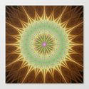 Fractal mandala sun by davidzydd