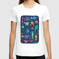 robots T-shirts featuring Robots by okionero