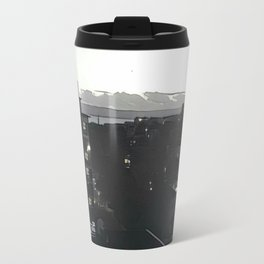 Bournemouth by Night Travel Mug