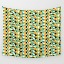 Scandy Triangles Wall Tapestry
