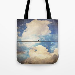 Lone Bird Tote Bag