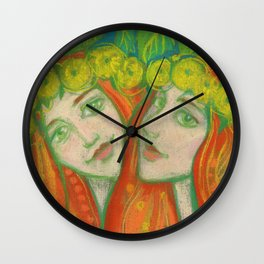 Dandelions Wall Clock