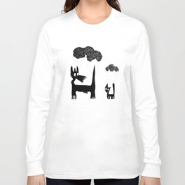 It's Raining Cats and Dogs Long Sleeve T-shirt