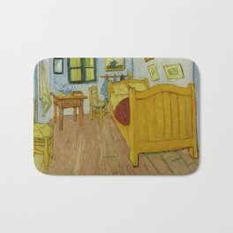 Bedroom in Arles by Vincent van Gogh Bath Mat