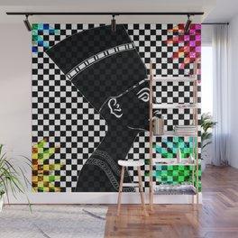 Queen Nefertiti Punk Rockstar Wall Mural