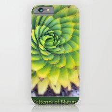 Patterns of Nature - succulent I Slim Case iPhone 6s