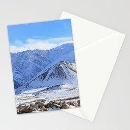 Beautiful Winter Season Landscape Stationery Cards