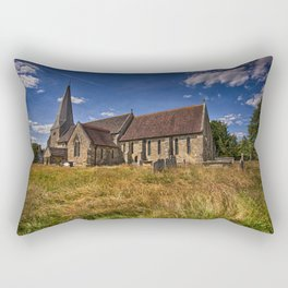 St Andrew and St Mary The Virgin Fletching Rectangular Pillow