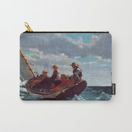 Winslow Homer Breezing Up (A Fair Wind) Carry-All Pouch