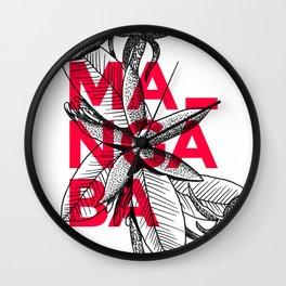 Mangaba Wall Clock