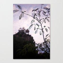 Parc des Buttes Chaumont - in Paris, France Canvas Print