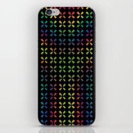 Blurred Rainbow XY iPhone Skin