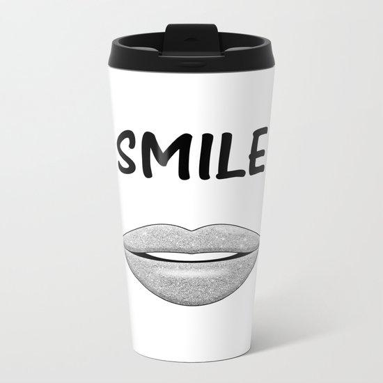 Smile! Metal Travel Mug