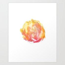 abstract watercolor 10 Art Print