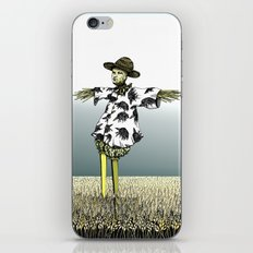 Crow Serie :: Scarecrow Henry iPhone & iPod Skin