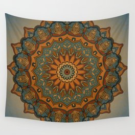 Moroccan sun Wall Tapestry