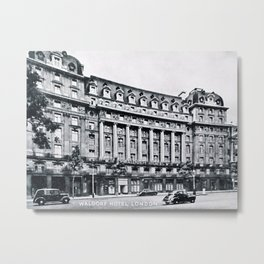 Waldorf Hotel London Metal Print