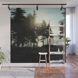 maine pines Wall Mural