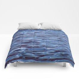 alien ripples Comforters