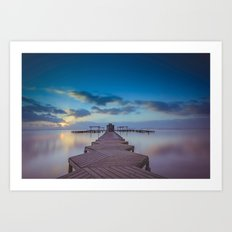 Alboran Sea, Spain Art Print