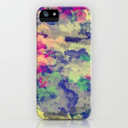 Abstract painting X 0.3 iPhone Case
