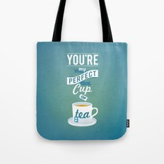 Perfect Cup of Tea Tote Bag