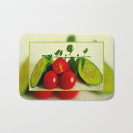 Juicy Vegetables Bath Mat
