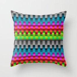 Stable Colour Throw Pillow
