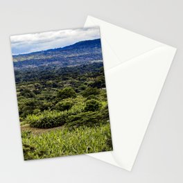Stunning Views of the Nicaraguan Countryside and Farms from the Rainforest of Nicaragua Stationery Cards