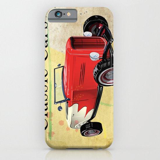 Classic Cars iPhone & iPod Case