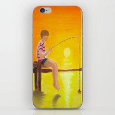 Fishin' iPhone & iPod Skin