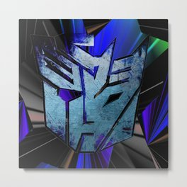 Transformers Metal Print