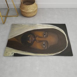 Knocking at the Door Rug