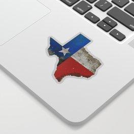Rustic Texas Sign Sticker