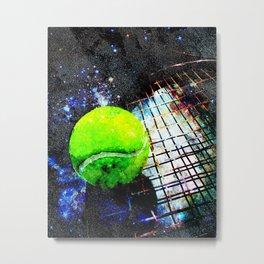 Tennis art print work vs 6 Metal Print