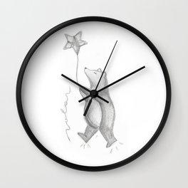 Vuelo Wall Clock