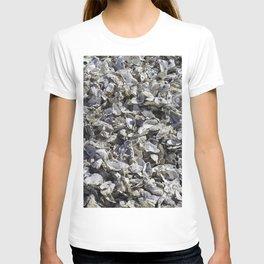 Shucked Oyster Shells T-shirt