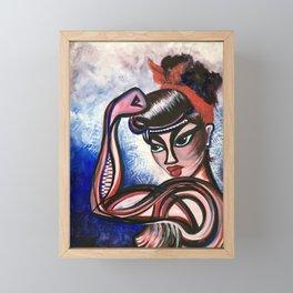 Feminista Framed Mini Art Print