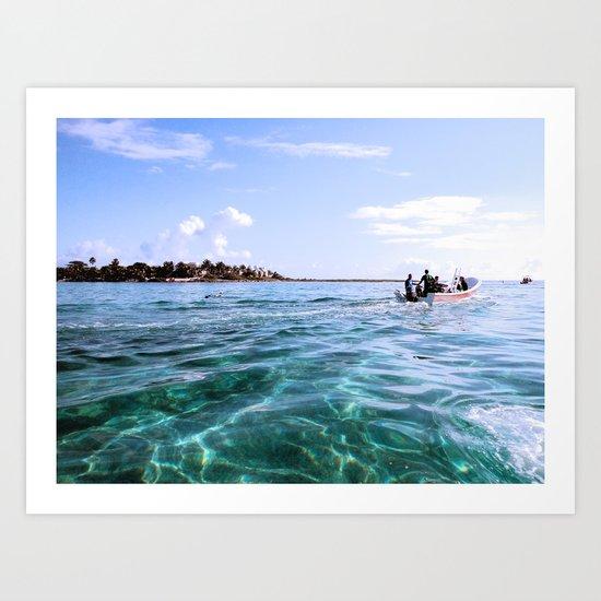 Open Sea Art Print
