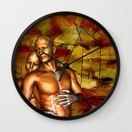 A HOME OF OUR OWN Wall Clock