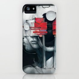 Behind Braver Faces iPhone Case