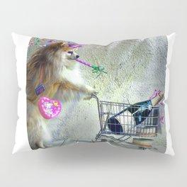 Cute Little Party Animal Pillow Sham