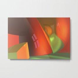crooked room -2- Metal Print