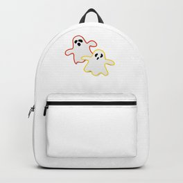 Spooky Halloween Scary Ghost Trick Or Treat Backpack