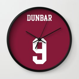 DUNBAR - 9 Wall Clock
