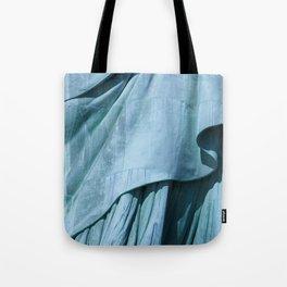Lady Liberty's Robe #1 Tote Bag