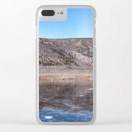 acadia maine Clear iPhone Case