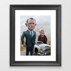Skyfall James Bond - Daniel Craig Framed Art Print